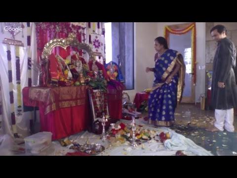 SriSitaRama Kalyanam at my residence (Tucson)