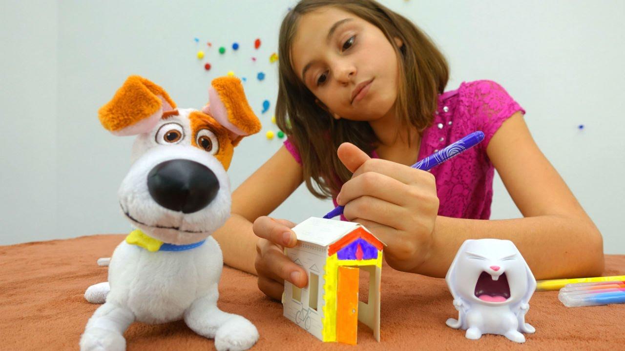 Интерактивные игрушки. Собака (щенок) Голди. - YouTube