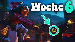 Woche 6 Geheimer Battle Pass Stern/Banner | Fortnite: Woche 6 Season 8 | Fortnite Guide [German][HD]