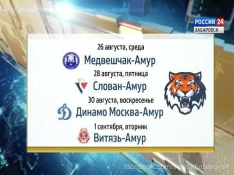 Вести-Хабаровск. Календарь игр ХК Амур