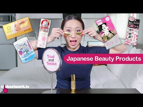 Japanese Beauty Products - Tried and Tested: EP102