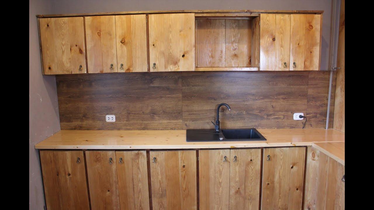 Как самому сделать шкафы для кухни 50