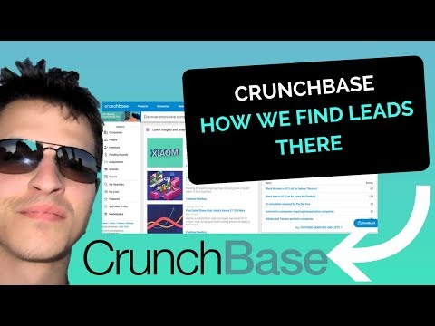 Crunchbase – How We Find Leads On The Best Startup Directory (2018)