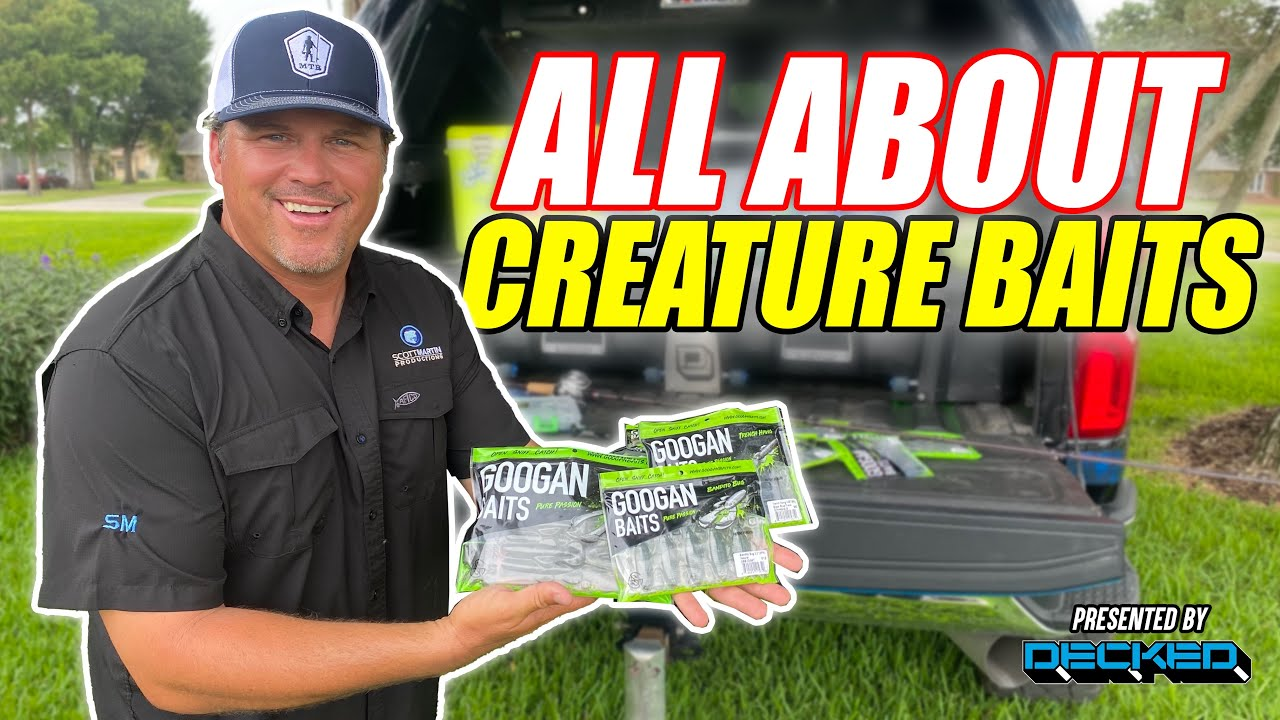 How and When To Fish a CREATURE BAIT - Back to the Basics with Scott Martin