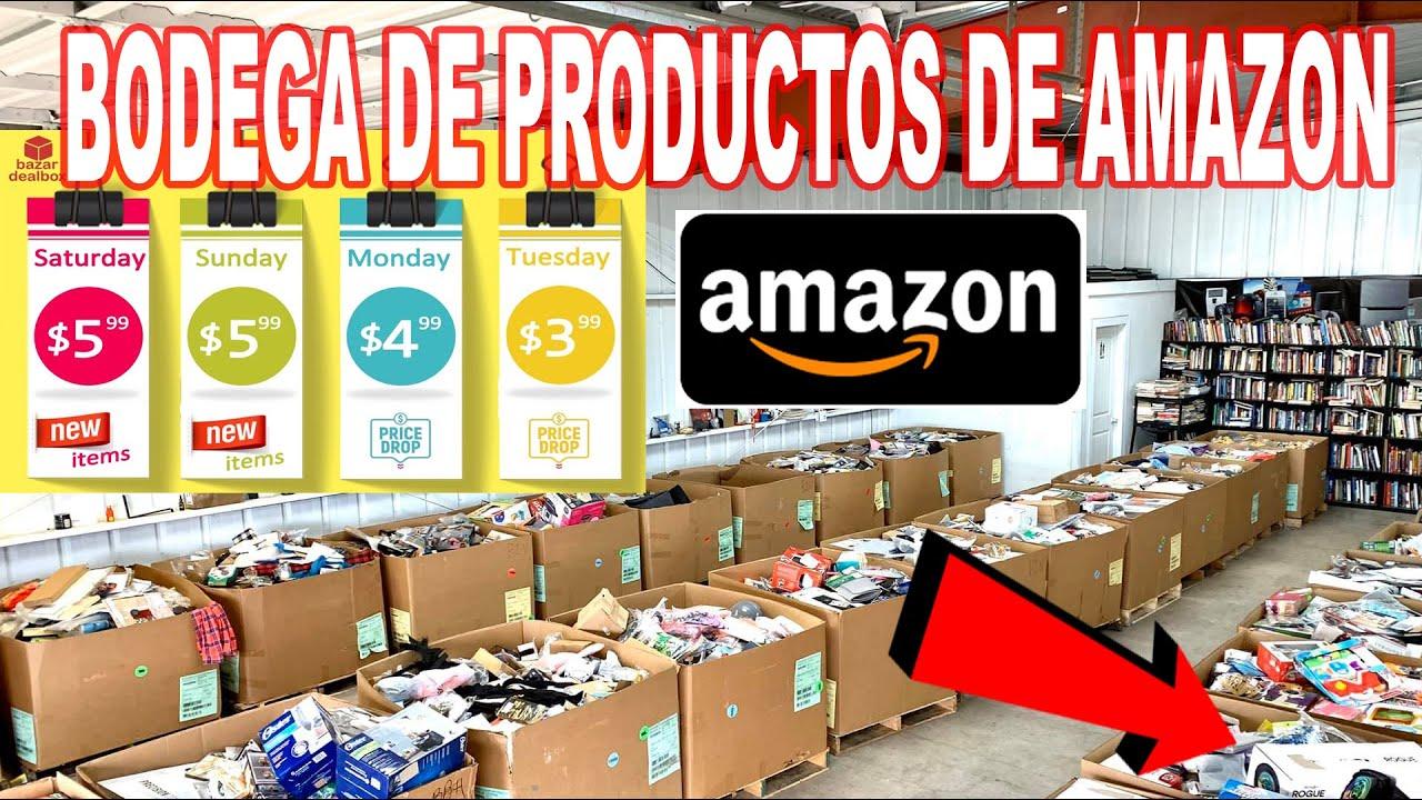 Bodega De Saldos De Amazon Encontramos Muchas Cosas Youtube