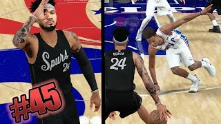 NBA 2k18 MyCAREER - #1 Draft Pick Gets Ankles Snapped! 6 Ankle Breakers! 2K Has Defense Wrong! Ep 45