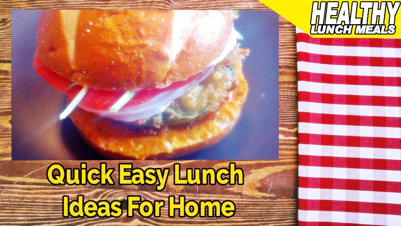 quick easy lunch ideas for home youtube