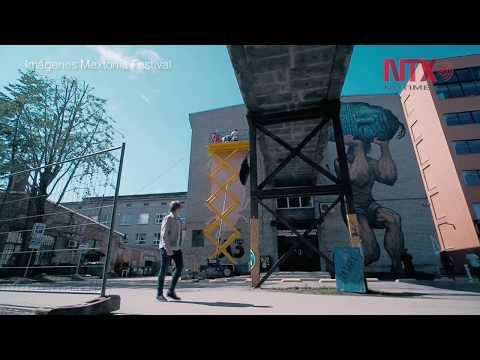 Mextonia, street art mexicano en Estonia