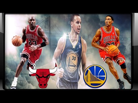 95-96 Chicago Bulls vs Golden State Warriors - Playoff Series Simulator