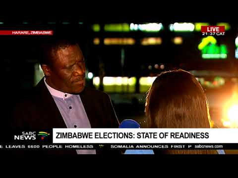 State of readiness ahead of Zimbabwe elections - Chriselda Lewis