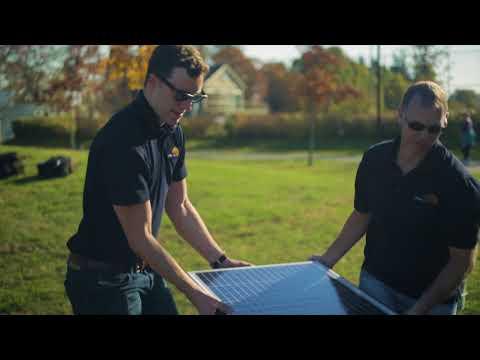 Urban Solar - Commercial Solar Lighting Install