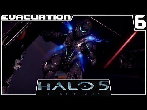 Halo 5: Guardians - Mission 6: Evacuation - Gameplay Walkthrough [1080p/60fps]