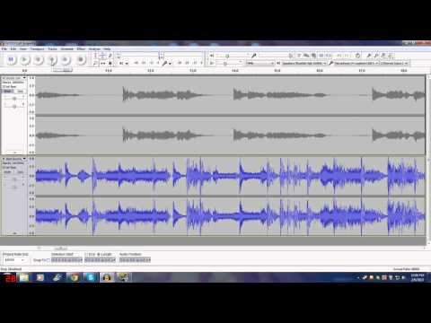 Making a Mashup in Audacity:  Tutorial part 1/2