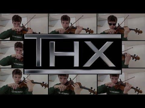 THX logo sound on violin