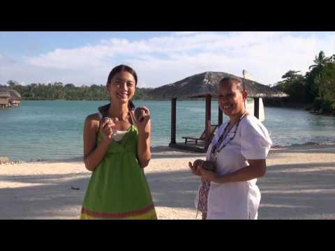 Holiday Inn Resort Vanuatu & Sik Saltwota blo plastic Exhibition