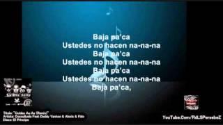 Cuidau Au Au (Remix) (Letra) - Cusculluela Ft Alexis & Fido & Daddy Yankee