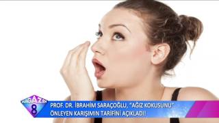 Prof Dr İbrahim Saraçoğlu Ağız Kokusunu Önleyen Karışımının Formülünü Açıkladı