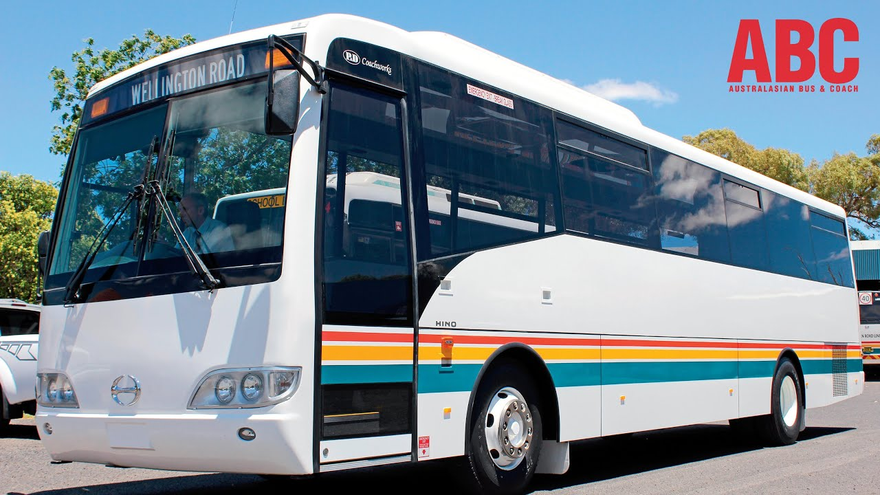 50 Years of Hino buses in Australia