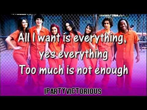 Victorious Cast – All I Want Is Everything Lyrics | Genius ...