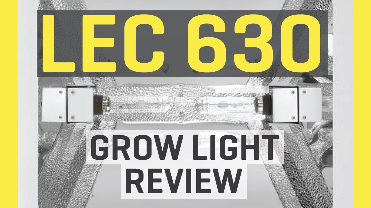 lec fixture with light sun watt grow volt lamp system