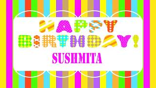 Sushmita   Wishes & Mensajes - Happy Birthday