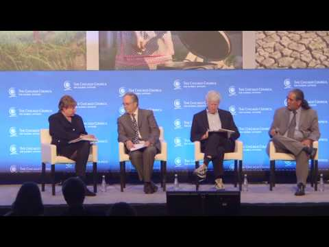 Water Stresses and Global Food Security