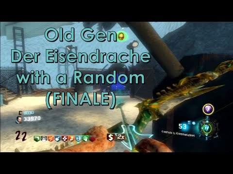 THE WOLF BOW...OH... Old Gen Der Eisendrache with Randoms (finale)