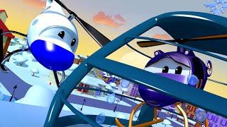 Малыши хотят поймать САНТУ! - Авто Патруль в Автомобильном Городе   Мультфильмы для детей