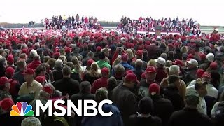 "New Low: MAGA Crowd Chants ""Lock Her Up"" After Clinton Sent Bomb 