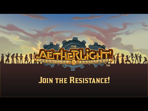The Aetherlight: Chronicles of the Resistance Official Trailer