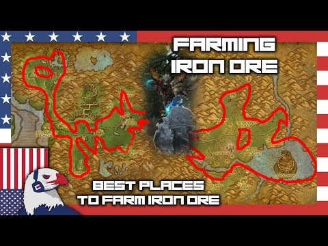 Iron Ore Farming Spot (Gold Ore Too!) - BFA Farming 8.15
