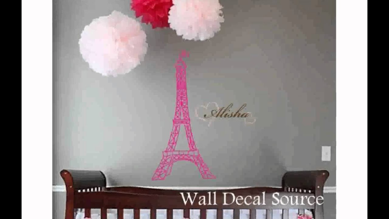 Eiffel Tower Wall Decal Part 81