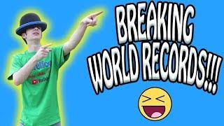 Break Our World Records Jake&Josh Challenge!