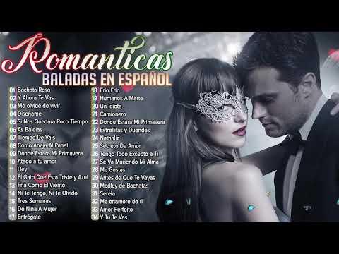 Las 100 mejores baladas en español 💘 a Romantica 70 80 90 Para Trabajar y Concentrarse