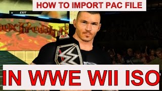 How To Import And Export PAC Files From ISO Using Wii Scrubber | How To Do Modding | LOA
