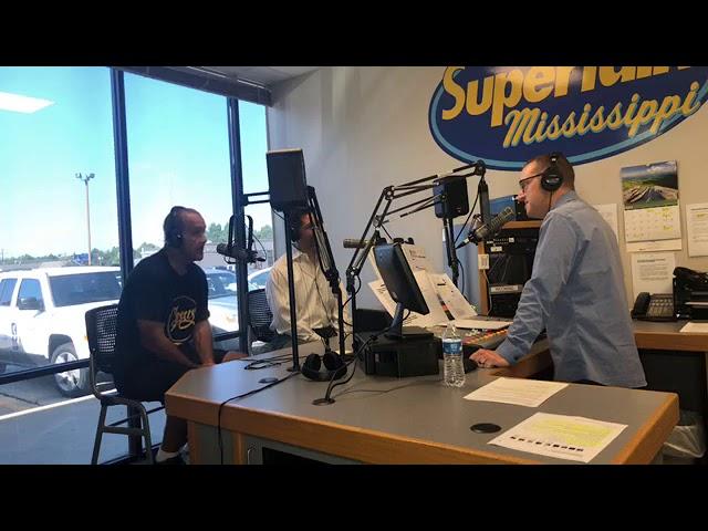 Facebook LIVE with Billy Carter at Supertalk Mississippi!!