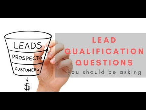Lead Qualification Questions You Should Be Asking