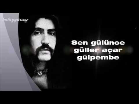 Barış Manço/GÜLPEMBE(lyrics)