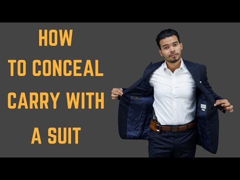 Thumbnail: How to Conceal Carry With A Tailored Suit
