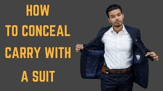 How to Conceal Carry With A Tailored Suit