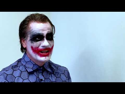 Joker Impression (Heath Ledger) - Joker Cosplay Tribute to Heath Ledger