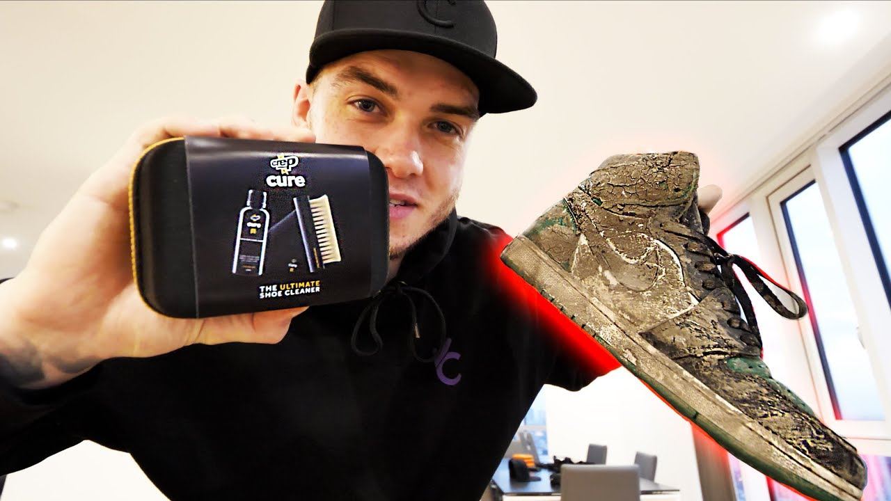 Ryan Taylor Shows How To Clean Jordan 1s With Crep Protect Cure