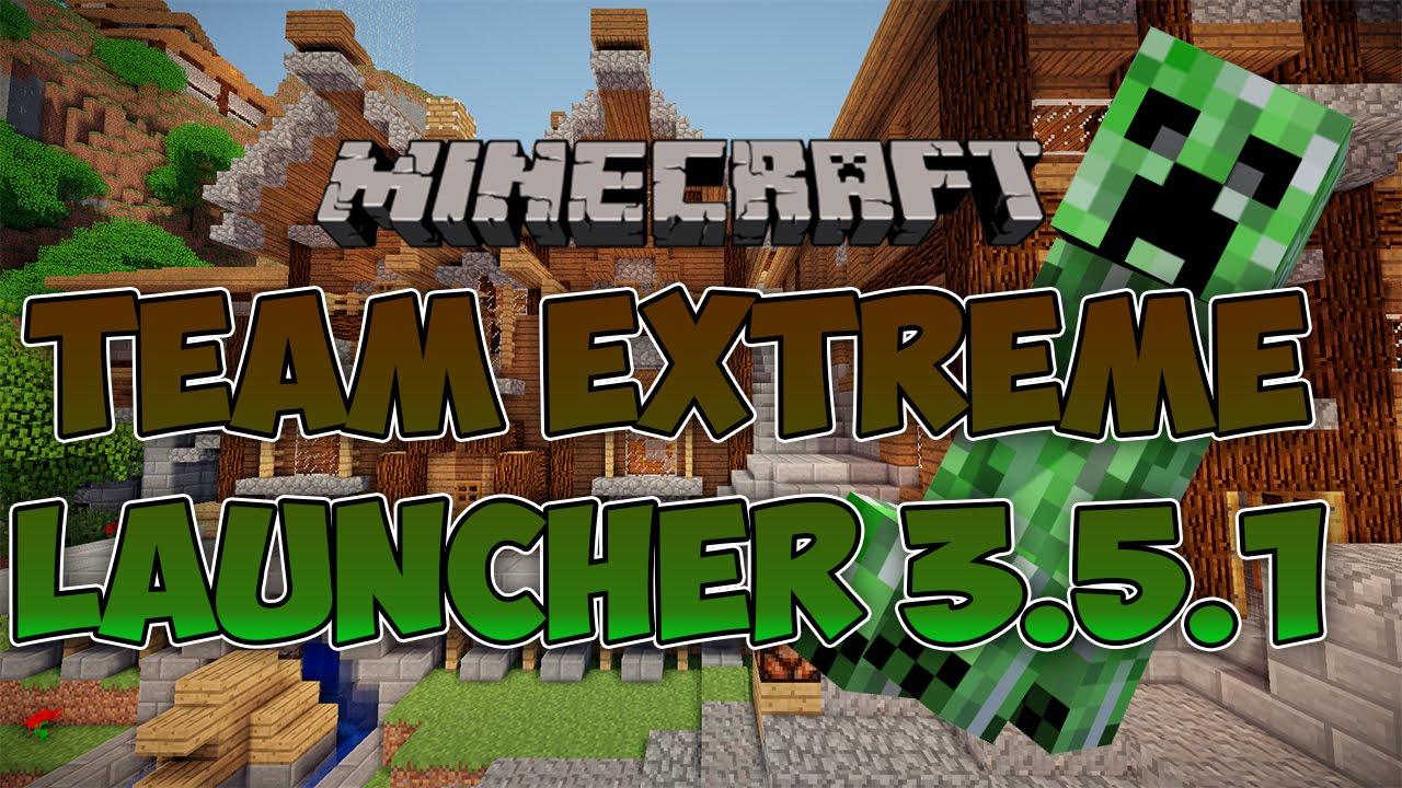 Launcher: Team Extreme todas as - Apenas o Minecraft