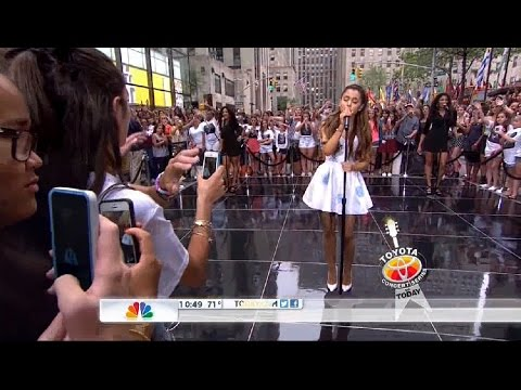 Ariana Grande - Tattooed Heart (Live on Today Show 2013)