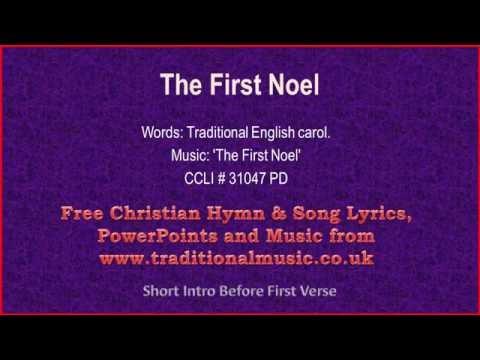 The First Noel - Christmas Carols Lyrics & Music