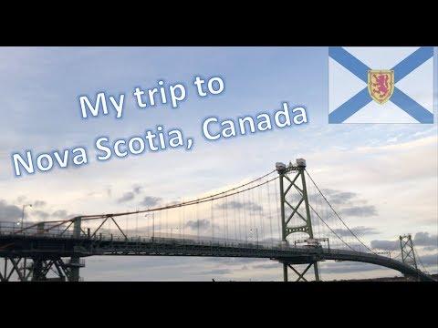 My trip to Nova Scotia, Canada (Travel Vlog)