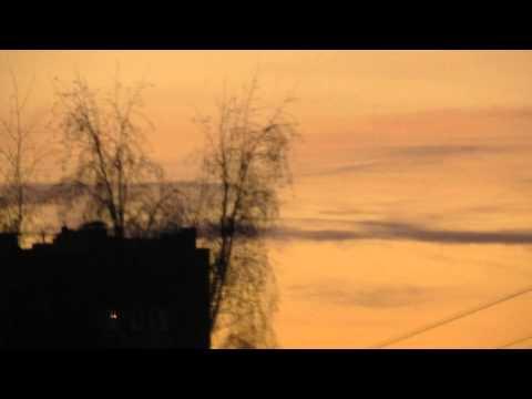 Интересные облака 22.01.2012. Ярославль.