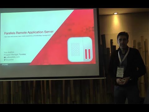 E2EVC Barcelona: Application and desktop delivery with Parallels RAS