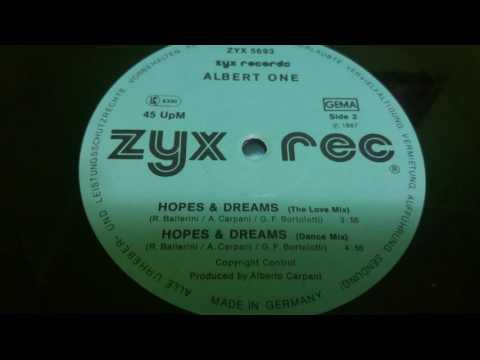 Albert One – Hopes & Dreams (Dance Mix)