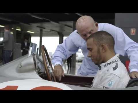 Lewis Hamilton & Sir Stirling Moss Preview British GP 2013 | Silverstone